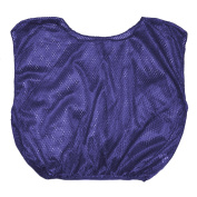Olympia Sports PC073P Youth Mesh Vest - Purple