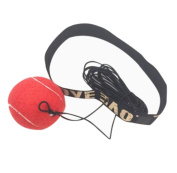 Iuhan Fight Ball Reflex With Head Band Speed Training Boxing, MMA, Punch Exercise Combat Sport Reaction Speed Practise