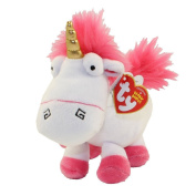 Ty Despicable Me 3 Fluffy Unicorn Plush Toy