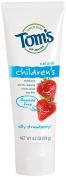 Toms of maine natural fluoride free toothpaste for children, silly strawberry - 120ml