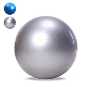 OutLife Exercise Ball, 65cm PVC Gym Swiss Birthing Ball for Yoga / Pilates / Fitness / Balance / Core Stability Training / Physical Therapy at Home and Office, Extra Thick Anti-Burst Anti-Slip