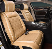 Massage Mat With Heated Vibrate Massage and Fan Function Multifunctional Mattress For Car , beige