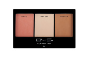 BYS Contour Trio Powder Palette Lift Contour Highlight Compact Makeup Set Sweet