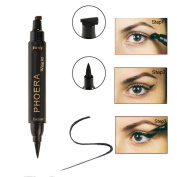Enjocho Beauty Vamp Stamp Cat Eye Wing Waterproof Eyeliner Double Head 2 in 1 Makeup Tool