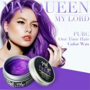 7 Colours DIY Hair Clay Wax Mud Dye Cream Grandma Hair Ash Dye Temporary WensLTD