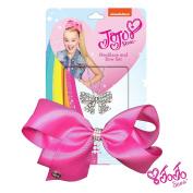 JoJo Siwa Signature Collection Rhinestone Hair Bow & Rhinestone Bow Necklace Set