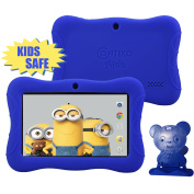 Contixo 18cm HD Display Kids Tablet 8GB, Bluetooth, Wi-Fi, 20+ Free Games, Kids Place Parental Control, Kid-Proof Case