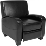 Best Choice Products Padded Upholstery Leather Home Theatre Recliner Chair