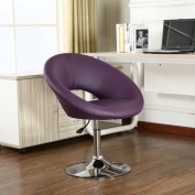 Roundhill Adjustable Swivel Accent Chair, Multiple Colours Available