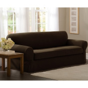 Darby Home Co Box Cushion Loveseat Slipcover Set