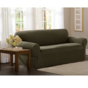Darby Home Co Box Cushion Loveseat Slipcover