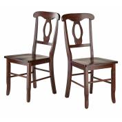Renaissance 2-Pc Key Hold Back Chair Set