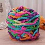 Amrka 100g/1ball Soft Cotton Hand Knitting Yarn Super Chunky Bulky Woven Worested Yarn for Crochet