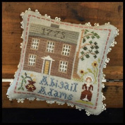 Early American - Abigail Adams Cross Stitch Chart and Free Embellishment