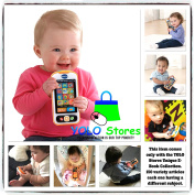 Baby Toys Smart Phone Mobile Cell Kids cellphone Activity Swipe Game Pretend Talking & Playing By YOLO Stores