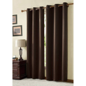 VCNY Home McKenzie Blackout Twill Grommet Top Window Curtains, Multiple Sizes Available