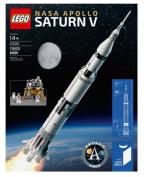 Lego Ideas 21309 NASA Apollo Saturn V set (1969 pieces) -2017 Hard-to-Find