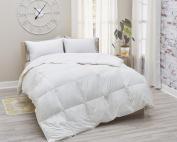 Amberly Bedding European White Goose Down Comforter - Summer Weight - Full/Queen