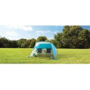 Ozark Trail 2.4m x 1.8m 2-Pole Design Sun Shelter, Blue