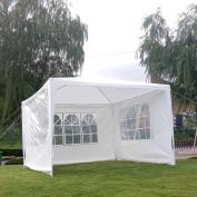 Ktaxon Outdoor 3mx3mCanopy Party Wedding Tent Heavy Duty Gazebo Camping Tent BBQ Canopy W/ 3 Sides