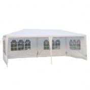 Zimtown 3mx6.1mOutdoor Canopy Party Wedding Tent Heavy duty Cater Events Gazebo Pavilion
