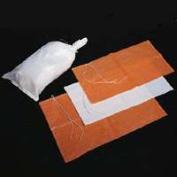Mutual Industries 14981-45-14 Sand Bag, 70cm L x 36cm W, Woven Polypropylene, White/Bright Orange