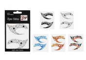 Fashion Women Temporary Eye Tattoos Stickers Sexy Lady Eye Shadow Eyeliners Art Stickers Decal Paster