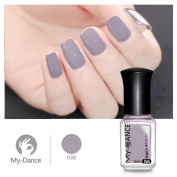 Promisen 6ml Nail Art Water-based Tasteless Peelable Polish Nail Lacquer Care