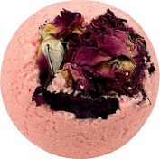 Char's Golden Goods Rose Petal Bath Bomb