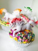 Unicorn Dreams Cupcake Bath Bomb - Made in different colours - pink,blue,green,orange