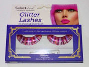 Select Lash Glitter Lashes in Pinks