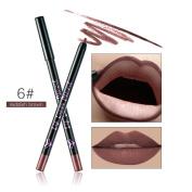 Vinjeely 12 Colours Professional Lipliner Makeup Waterproof Lip Liner Pencil