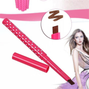 TBWIGA Long lastin Square Eyebrow Pencil Eye Brow Liner Powder Shaper Makeup tool coffee colour