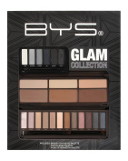 BYS Glam Collection with Smokey Eye Contouring and Nude 3 Eyeshadow Palettes