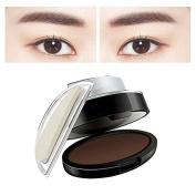 Vinmax Eye Brow Stamp Powder Delicated,Natural Waterproof Perfect Eyebrow Power Seal Enhancer Beauty Straight United Eyebrow