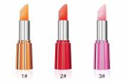 MEILINDS Women Natural Jelly Lipstick Waterproof Long Lasting Moisturise Fruit Flavour Lip Temperature Changing Colour Lip Glosses 3Pcs