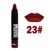Lanhui MISS ROSE Women Lipstick Moisturiser Matte Lipstick Cosmetic Beauty Makeup for Lovely Women