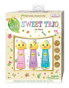 Hot Focus Natural Signature 113EM Sweet Trio Lip Gloss, Emoji