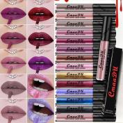 Outtop Waterproof Matte Metallic Liquid Lipstick All Day Lipcolor