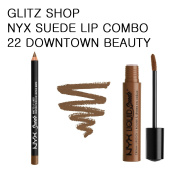 NYXGLITZ - SUEDE COMBO 22 Downtown Beauty