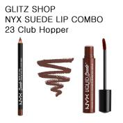 NYXGLITZ - SUEDE COMBO 23 Club Hopper