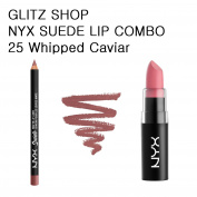 NYXGLITZ - SUEDE COMBO 25 Whipped Caviar