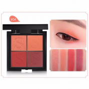 LLguz Ladies 4 Colour Waterproof Lasting Pearls Eye Shadow Plate