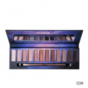 LLguz 12 Colours Cosmetic Powder Eyeshadow Palette Makeup Set Matt