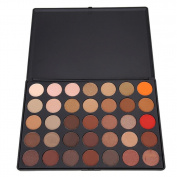 LLguz 35 Colours Shimmer Matte Eye Shadow Eyeshadow Palette Makeup Tool