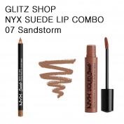 NYX GLITZ - SUEDE COMBO 7 - Sandstorm