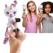 Fingerlings Toy, Interactive Baby Pet Fingerlings Unicorn Gigi,Electronic Little Baby Toy