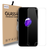 CIMOXI iPhone 7 Plus Screen Protector Glass, [0.33mm 9H] [Bubble Free Installation] Tempered Glass Screen Protector for iPhone 7 Plus