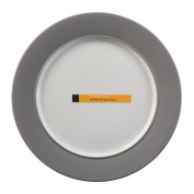 Evolution Slate Rimmed Dinner Plate 25.4cm