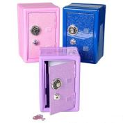 18cm Glitter Locker Safe Bank